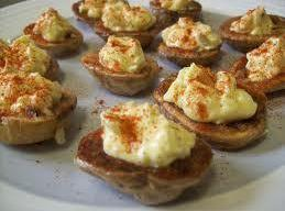 Hot Deviled Potatoes Recipe