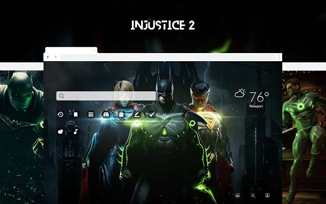 Injustice 2 HD Wallpapers New Tab