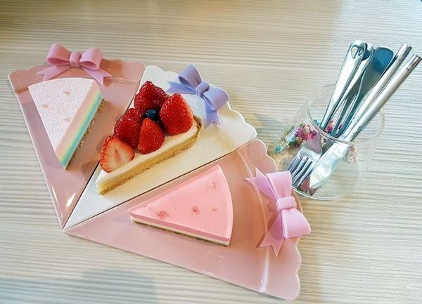 破舍咖啡Për Se Café:讓人少女心噴發的彩色蛋糕