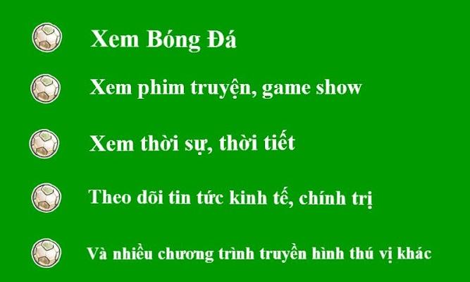 Xem Tivi Bong Da Truyen Hinh - screenshot
