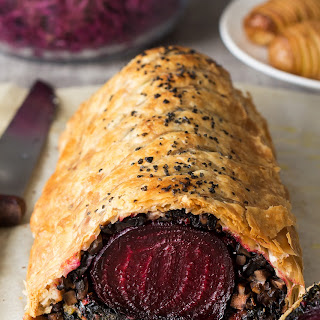 Beet Wellington with Balsamic Reduction Recipe