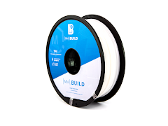 White MH Build Series TPU Flexible Filament - 3.00mm (1kg)