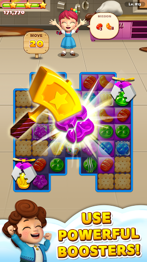 Sweet Road: Cookie Rescue Free Match 3 Puzzle Game  screenshots 2