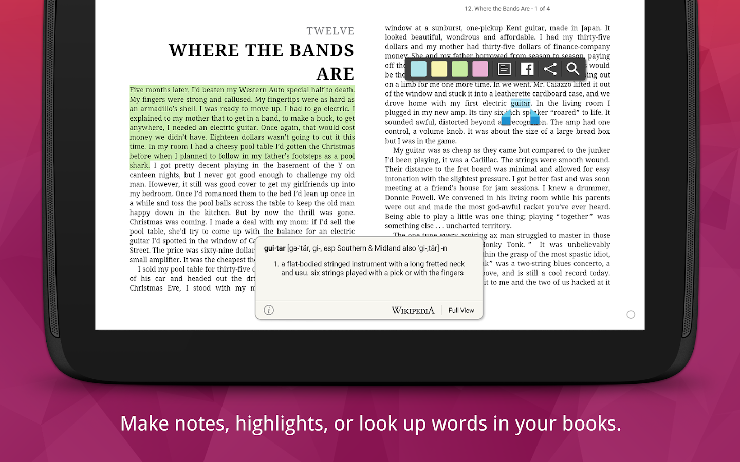 Kobo Books  Reading App Screenshot