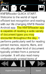 KNFB Reader- screenshot thumbnail