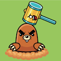 Whack A Mole-appears from hole icon