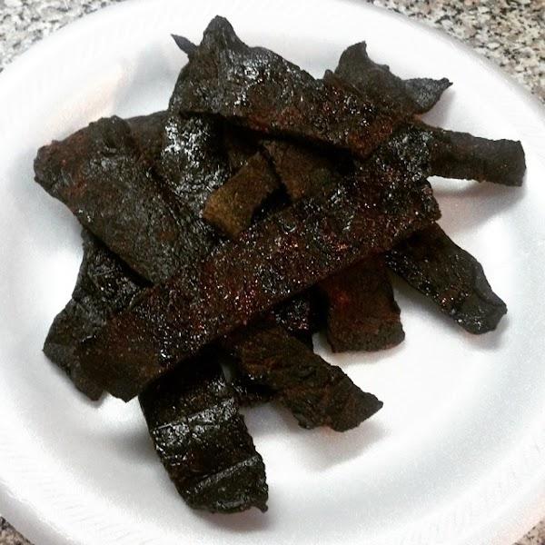 Teriyaki Smoked Beef Jerky Recipe