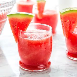 Watermelon Vodka Slush.