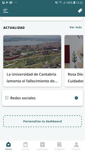 Universidad de Cantabria screenshot 3