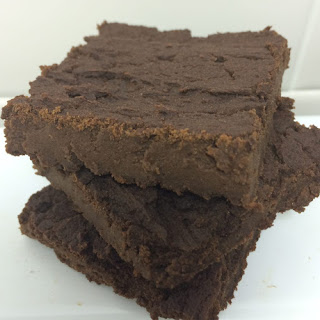 Low Carb 6 Ingredient Vegan Fudgy Protein Brownies.