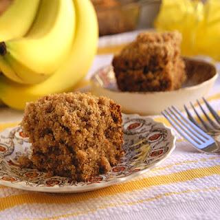 Cinnamon Streusel Banana Coffeecake