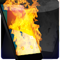 Fire Screen Burning icon