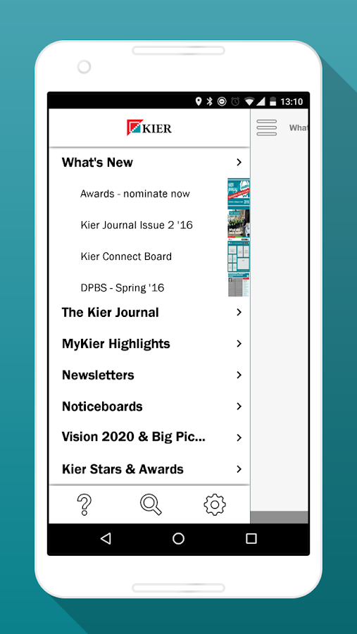 Kier Connect- screenshot