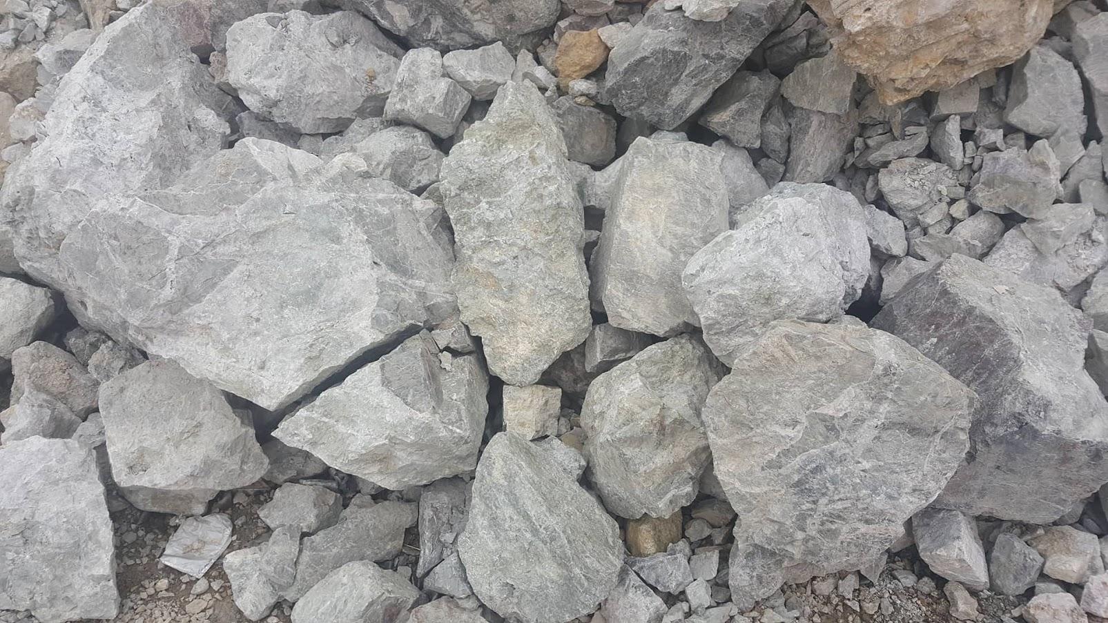 Руда месторождения Валунистое