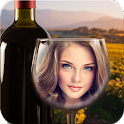 Bottle And Glass Photo Frames icon