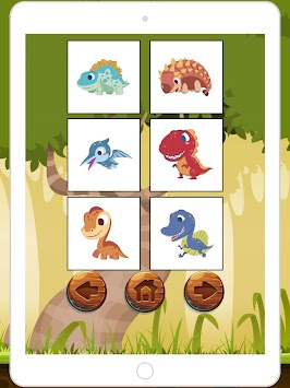 Paint Draw Dinosaur Coloring Book Poster