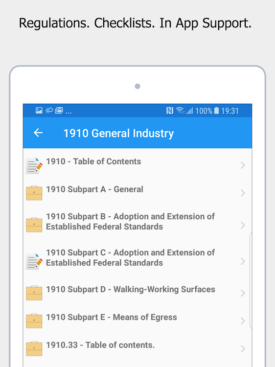 OSHA Safety - Laws and Regulations 1910 1926 1904 – (Android Apps