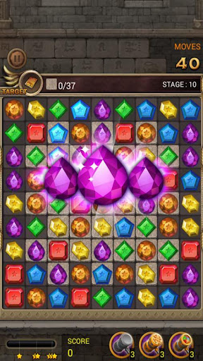 Jewels Temple Quest : Match 3 1.6.9 APK MOD screenshots 1