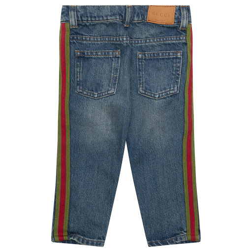 Thumbnail images of Gucci Baby Boy Denim Jeans