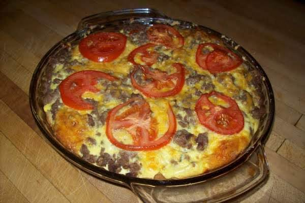 Impossible Easy Cheeseburger Pie Recipe