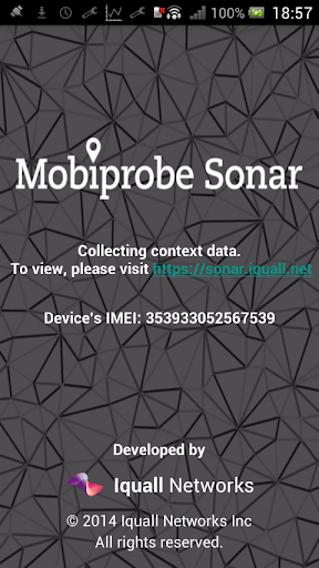 Mobiprobe Sonar Context Data