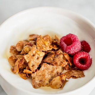 Matzo Granola with Vanilla & Almonds
