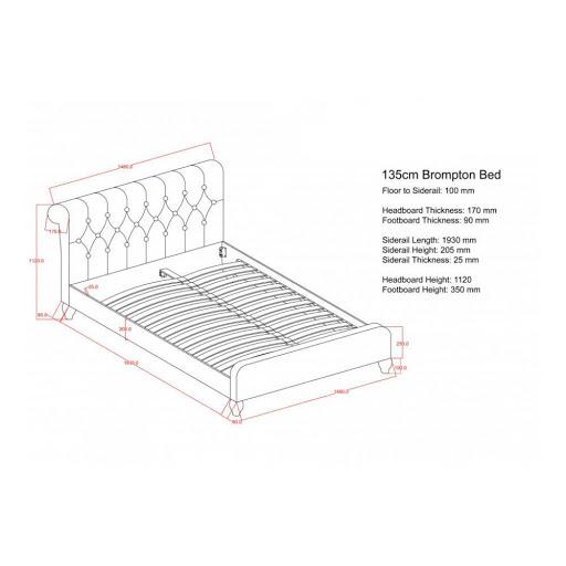 Birlea Brompton Bed Frame