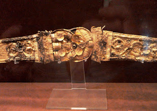 Photo: Gold belt, late 3rd-early 2nd century BC