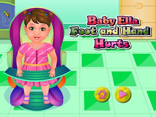 足部護理寶寶遊戲