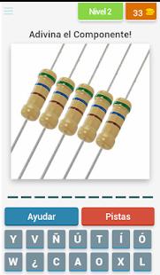 Componentes Electrónicos Quiz - náhled