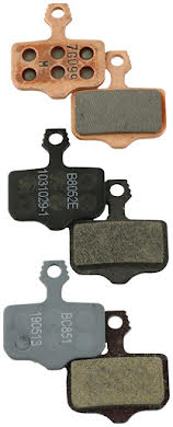 SRAM Disc Brake Pads - Organic Compound, Steel Backed, Powerful, For Level, Elixir, DB, and 2-Piece Road alternate image 0