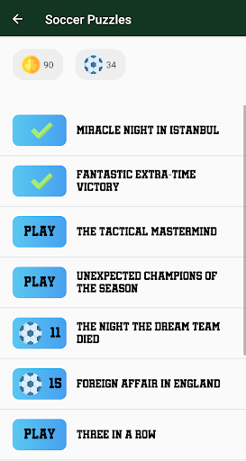 Soccer Puzzles: Football Games 1.0.2 screenshots 2