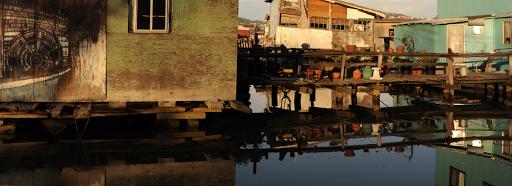 águas contaminadas por esgoto