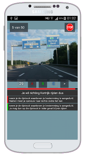 Rijbewijs-BE Free  screenshots 3