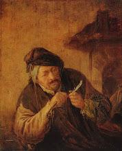 Foto: Adriaen van Ostade geboren als Adriaen Hendricx (Haarlem, 10 december 1610 - aldaar, 28 april 1685) was een Nederlandse schilder en graveur en tekenaar behorend tot de Hollandse School.