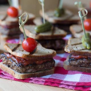Square Meatball Sandwiches
