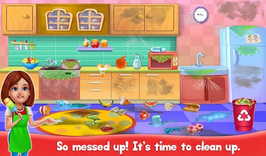 Big Home Cleanup and Wash : House Cleaning Game 3