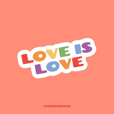 Love is Love - Instagram Post template