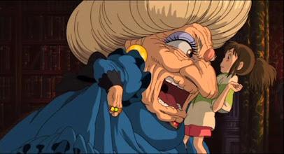 """Photo: Mais um plano da animação """"A Viagem de Chihiro"""", deHayao Miyazaki."""