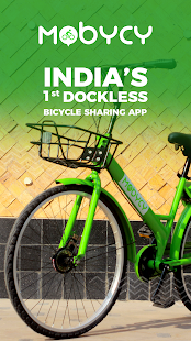 Mobycy - Dockless Bicycle Share|Bike Sharing India - náhled
