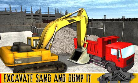 Sand Excavator Crane 1.1 screenshot 70024