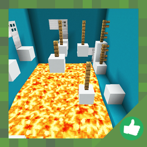 Delirious Parkour Challenge. Map for MCPE 20b.0 APK MOD