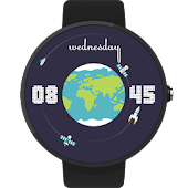 Space Watch Face with Planets