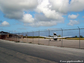 Photo: #001-L'aéroport international de San Salvador (Bahamas)