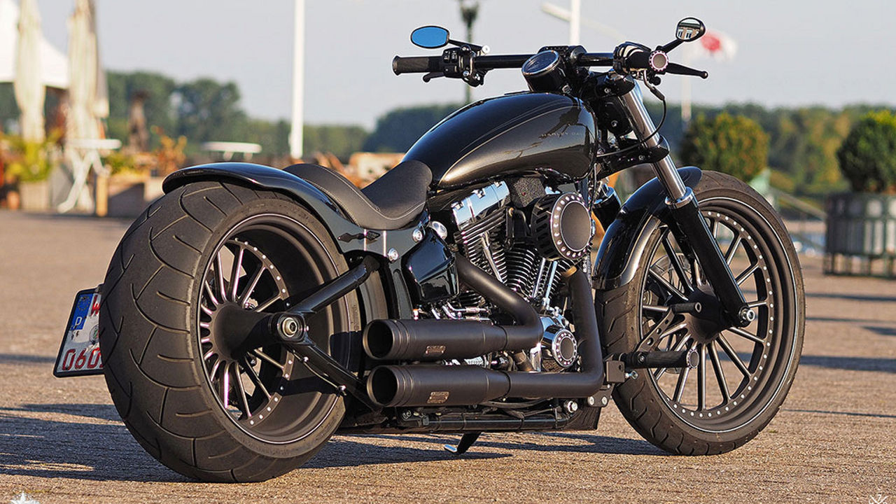 Harley Davidson Softail Breakout Spoke by Thunderbike
