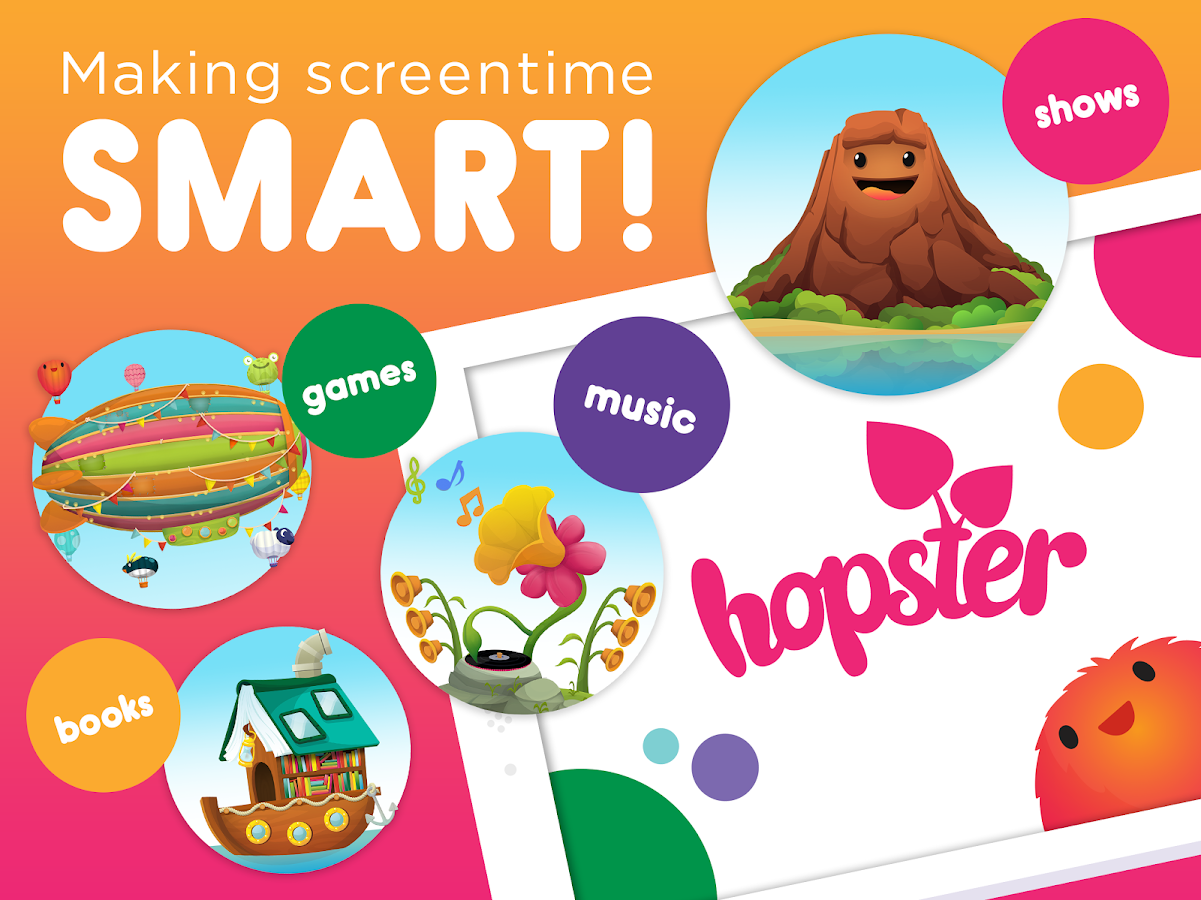 Hopster TV and Learning Games- screenshot