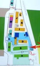 Photo: Plan menunjukkan kedudukan bangunan mengikut huruf-huruf. A=Bangunan Amanah, B= Bangunan Taqwa, C= Bangunan Iman, D=Bangunan Ibnu Kathir, E=Pejabat Hidayah, F Kompleks Surau & Tahfiz Ibnu Masud, G=Kantin, H=Asrama Lelaki, I=Bangunan As-Syafi'e, J=Bangunan al-Qurtubi, K=Bangunan as-Sayuti, L=Bangunan Zainab al-Ghazali, M=Asrama Perempuan, N=Asrama Lelaki