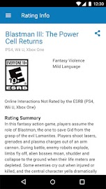 Video Game Ratings by ESRB Screenshot 4