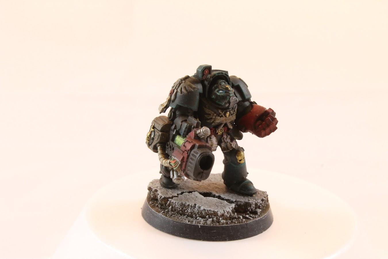 Terminator #4, painted, reverse angle