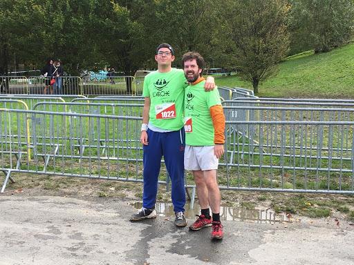Rodolphe et François, pour le 5 km.